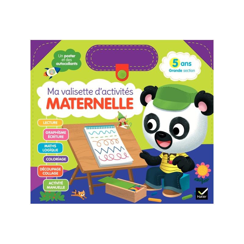 Activité - Ma valisette d'activités maternelle - 5 ans GS