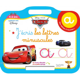 Ardoise Cars - J'écris les lettres minuscule