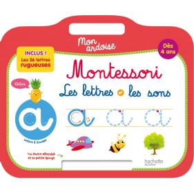 Ardoise Montessori - Lettres et sons