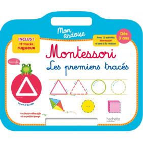 Ardoise Montessori - Premiers tracés
