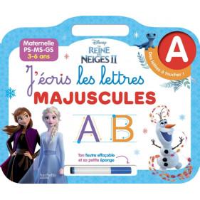 Ardoise Reine des neiges 2 - Lettres majuscules