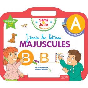 Ardoise Sam et Julie - J'écris les lettres majuscules 3-5 ans