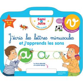 Ardoise Sam et Julie - J'écris les lettres minuscules 4-6 ans