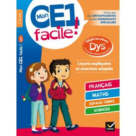 DYS - Mon CE1 FACILE ! Adapté aux enfants DYS