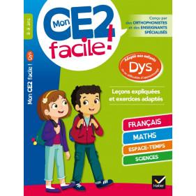 DYS - Mon CE2 facile ! Adapté aux enfants DYS