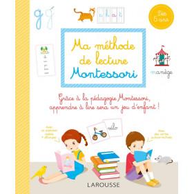 Larousse - Ma méthode de lecture Montessori