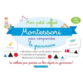 Larousse Coffret - Mon petit coffret Montessori - Comprendre la grammaire