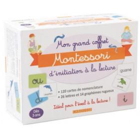 Larousse Coffret - Mon grand coffret Montessori - Initiation à la lecture