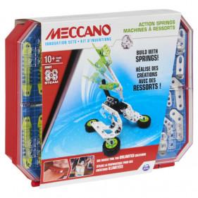 SET 4 – KIT D'INVENTIONS – MACHINES A RESSORTS Meccano
