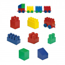 "30 MATTONI ""MIX"" in sacchetto di plastica/ 30 ""MIX"" BRICKS"