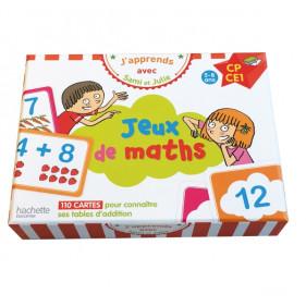 Coffret jeux de maths - J'apprends avec Sami et Julie