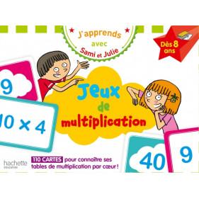 Coffret jeux de multiplication - J'apprends avec Sami et Julie