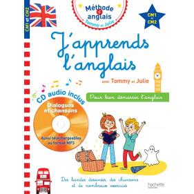 J'apprends l'Anglais avec Tommy et Julie CM1 à CM2