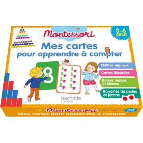 Coffret Montessori - Mes cartes pour apprendre à compter