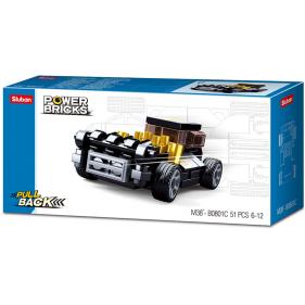 Cars Pull Back : Black Mod Rod