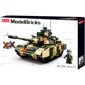 Model Bricks Army - Large Battle Tank