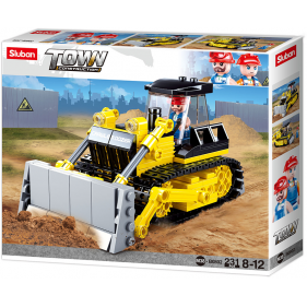 Town Construction - Bulldozer