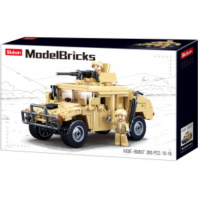 Model Bricks Army - Offroad Assault Vehicle
