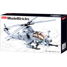 Model Bricks Army - Attack Helicopter