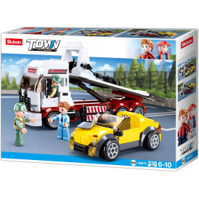 Town Truck : Car Trailer