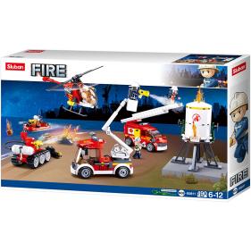 Pompier : Fire brigade set