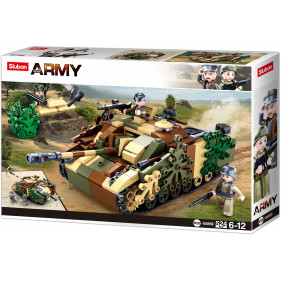 Sluban Army - Camouflaged Tank