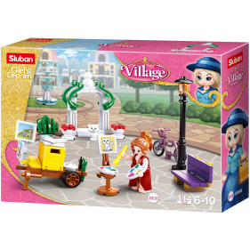 Girls Village : Painter in the Park