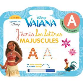 Ardoise Vaiana - J'écris les lettres majuscules