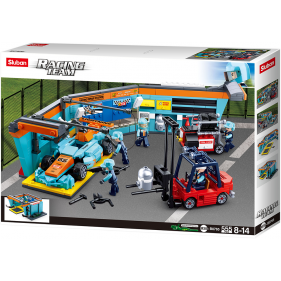 Formule 1 : Racing Car Maintenance Station