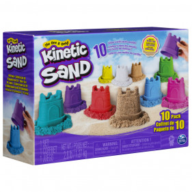 Kinetic Sand 10 Colour Pack - ECOM Exclusive Closed Box version