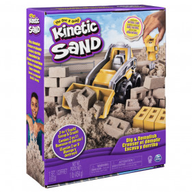 Kinetic Sand Dig and Demolish Kit