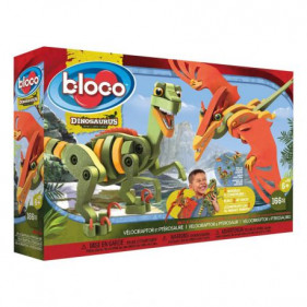 Bloco Toys : Vélociraptor & Ptérosaure