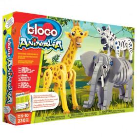 Bloco Toys : Girafe, Zèbre & Eléphant