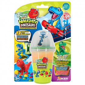 New Slimy Dino Collectible - 155 g Orange