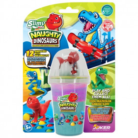 New Slimy Dino Collectible - 155 g Violet