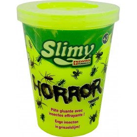 1 pot Slimy Original Horror - 80 Gr Jaune