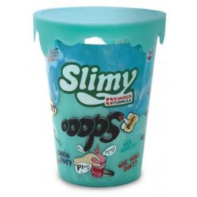 1 pot Slimy Oops Metallic - 80 Gr Bleu