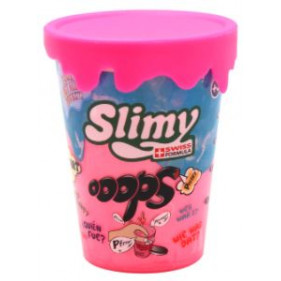 1 pot Slimy Oops Metallic - 80 Gr Rose