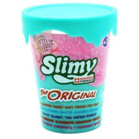 1 pot Slimy Metallic Original - 80 Gr Bleu