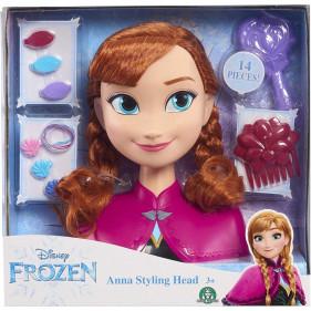 Disney La Reine des neiges - Anna - Tête à Coiffer