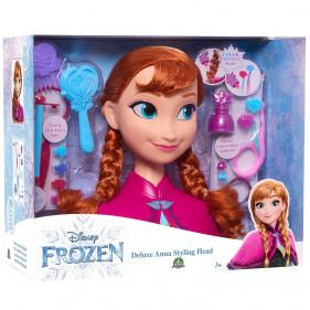 Disney La Reine des neiges 2 - Anna - Tête à Coiffer Deluxe