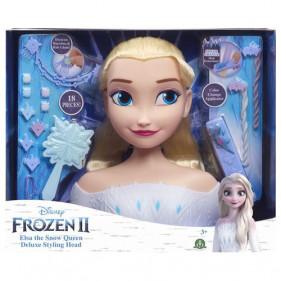 Disney La Reine des neiges - Elsa - Tête à Coiffer Deluxe