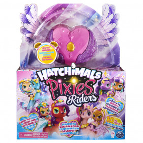 Hatchimals Pixie Riders Crystal Charlotte Draggle