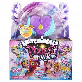 Hatchimals Pixie Riders Moonlight Mia Unicornix Dark Unicorn