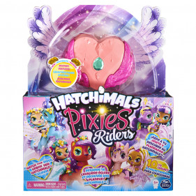 Hatchimals Pixie Riders Radiant Roxy Tigrette