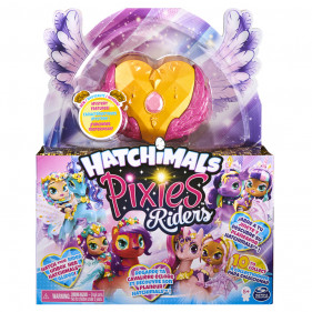 Hatchimals Pixie Riders Gold Shimmer Charlotte Draggle Draggle
