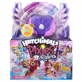 Hatchimals Pixie Riders Black Glitter Lily Seastallion