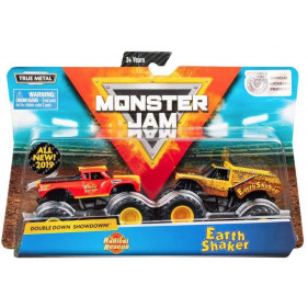 Monster Jam - 1:64 Monster Jam 2-Pack : Earth Shaker / Radical Rescue