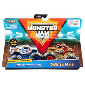 Monster Jam - 1:64 Monster Jam 2-Pack : Monster Mutt/Ice Cream Man