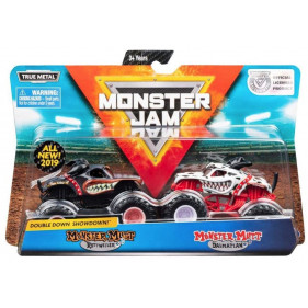 Monster Jam - 1:64 Monster Jam 2-Pack : Monster Mutt dalmatian / Monster Mutt Rott Weiler